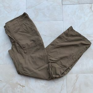 The North Face Hiking Pants Olive Green Women Sz 6